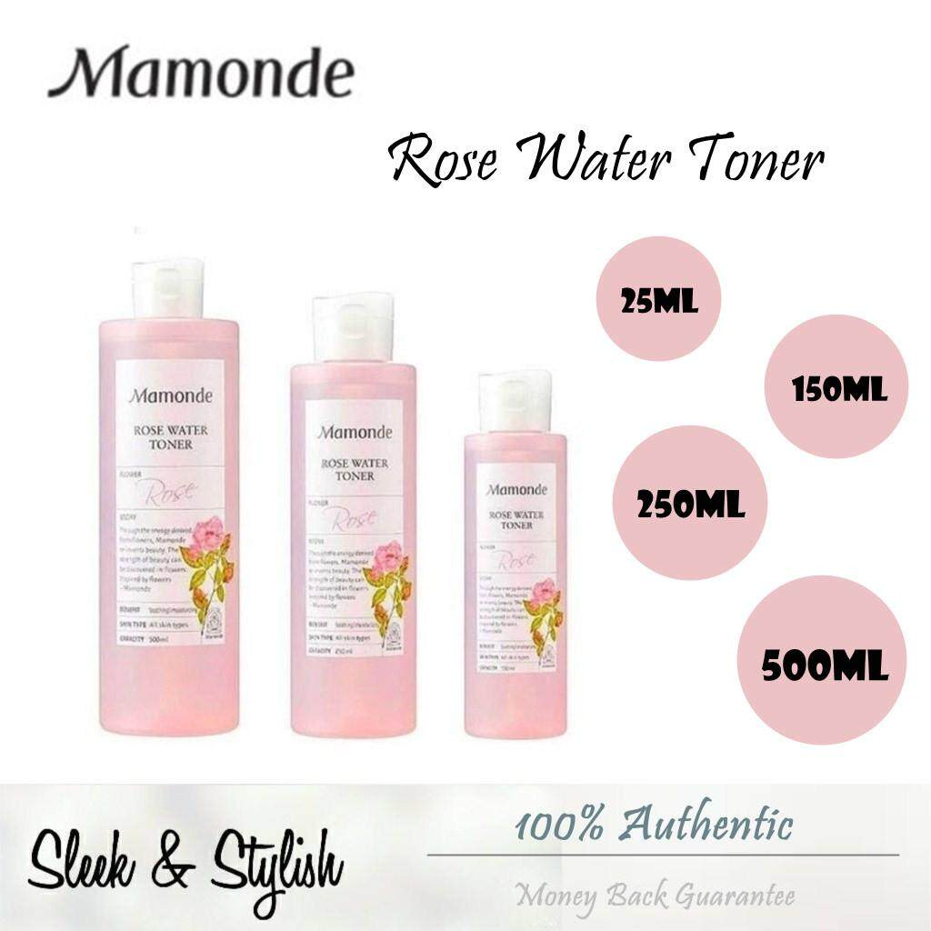 MamondeRose Water Toner 25ml/150ml/250ml/500ml