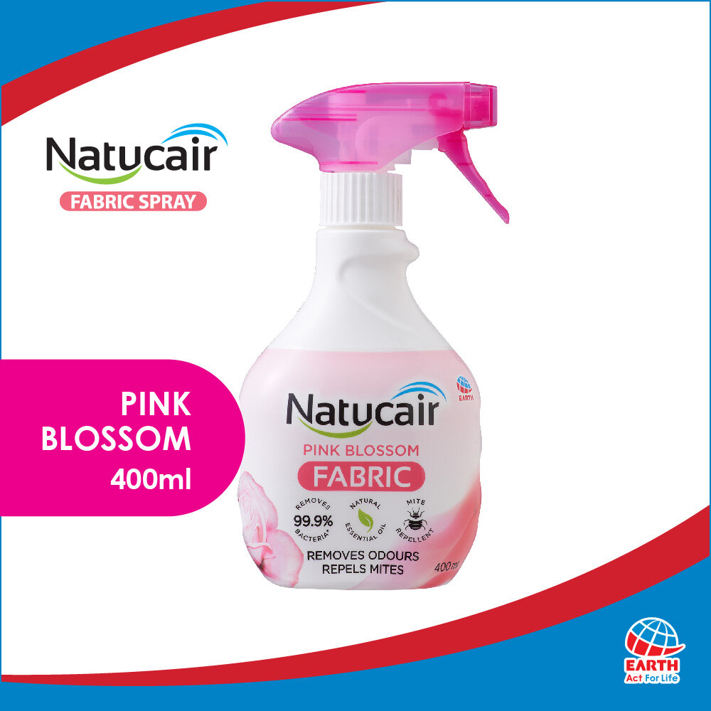 Natucair Fabric Spray Pink Blossom (400ml)8936013251509