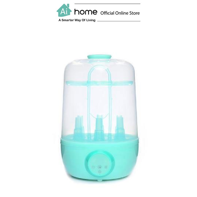 KOLAMAMA Baby Bottle Electric Steam Sterilizer And Dryer (Green) with 1 Year Malaysia Warranty [ Ai Home ] KOLAMAMA Sterilizer And Dryer