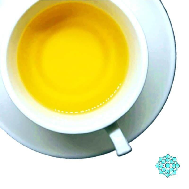 READY STOCK !! Natural Colorful Uncang Tea - Golden Roots (Turmeric Ginger) Souvenir