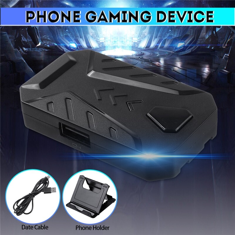 Phone Holder & Stand - for IOS Android Mobile Phone Gaming Keyboard & Mouse Adapter Converter Holder - Cases Covers