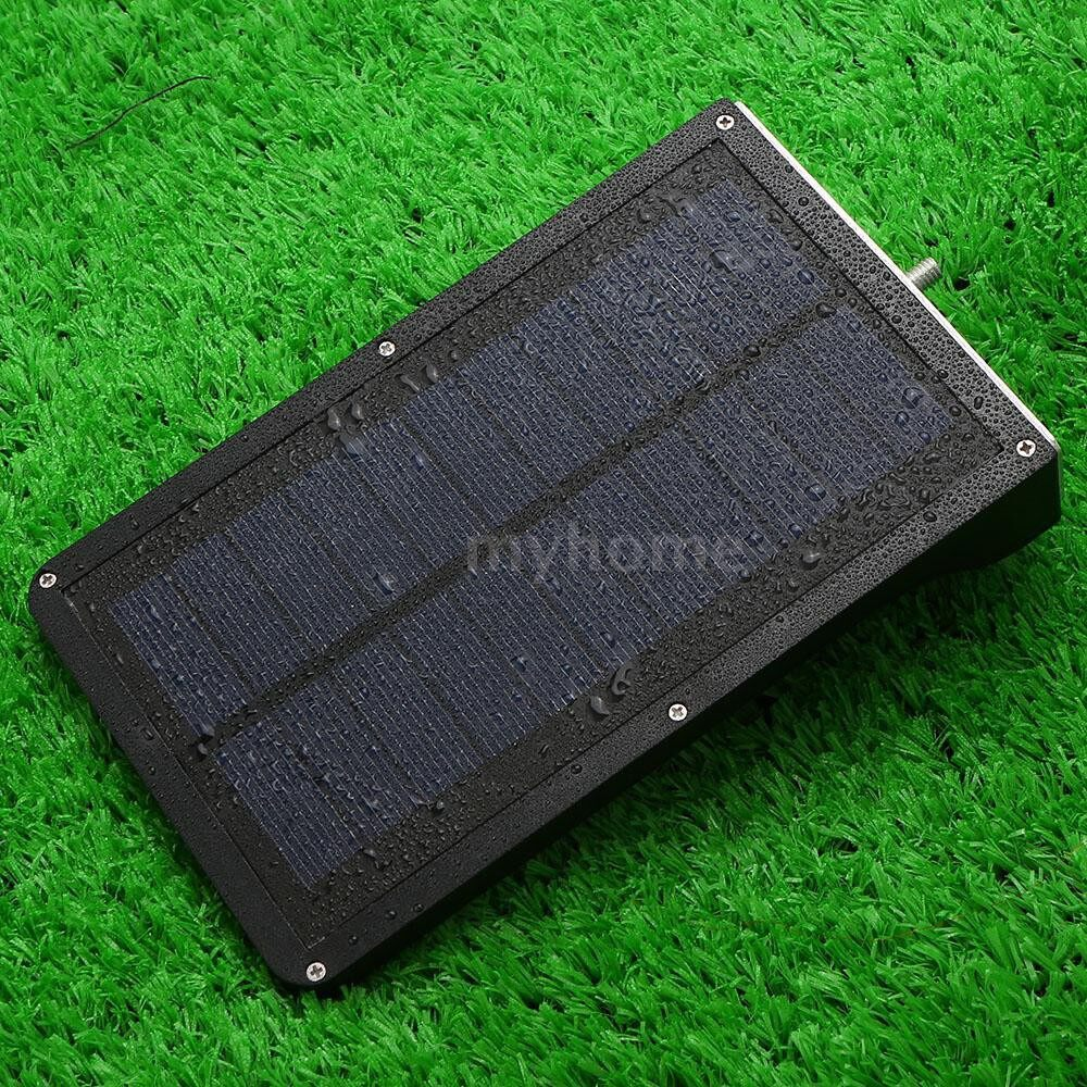 Outdoor Lighting - 3.2V 3.5W 36 LED 450LM Solar Powered Energy PIR Motion Sensor Wall Lamp Adopted Human Infrared - BLACK-TYPE 2 / WHITE-TYPE 2 / BLACK-TYPE 1 / WHITE-TYPE 1