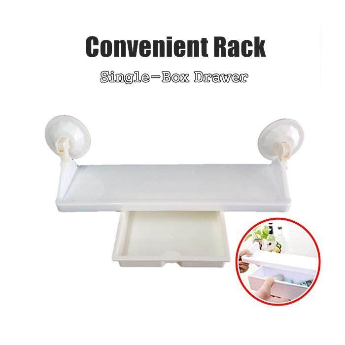 Convenient Rack Single-box Drawer Used In Bathroom And Kitchen