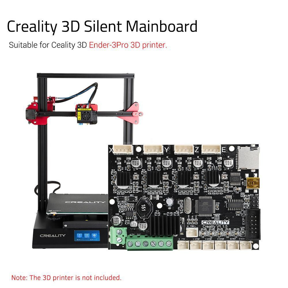 Printers & Projectors - Creality 3D Base Control Board Mother Board V1.1.5 Silent Mainboard for Ender-5 DIY Self Assembly - FOR ENDER-5 / FOR ENDER-3PRO / FOR ENDER-3