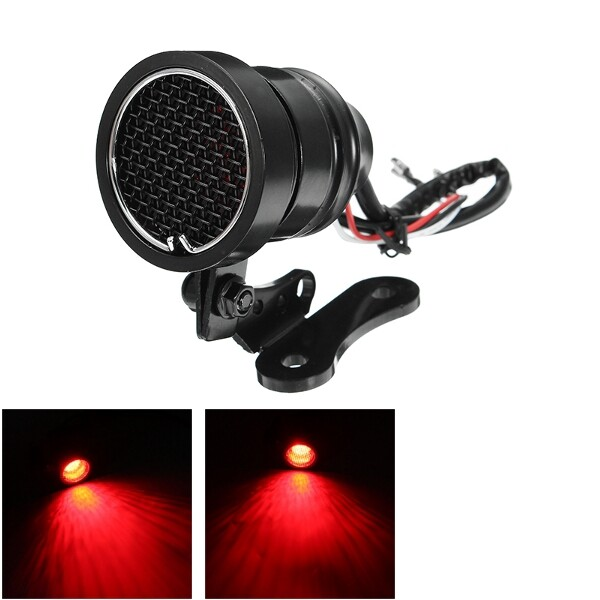 Car Lights - 12V Motorcycle Brake Lamp Aluminum Alloy Tail Light For Harley Glide CB XL - Replacement Parts