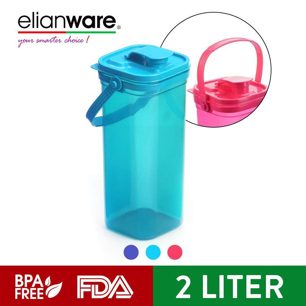 Elianware 2 Ltr Fridge Handy Cool [BPA FREE] Tumbler Water Bottle