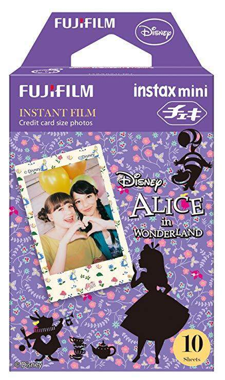 FUJIFILM INSTAX Mini Disney's Alice in the Wonderland Instant Film (10 Sheets)