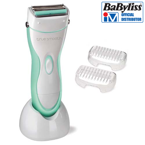 BABYLISS True Smooth Rechargeable Lady Shaver 8770BU
