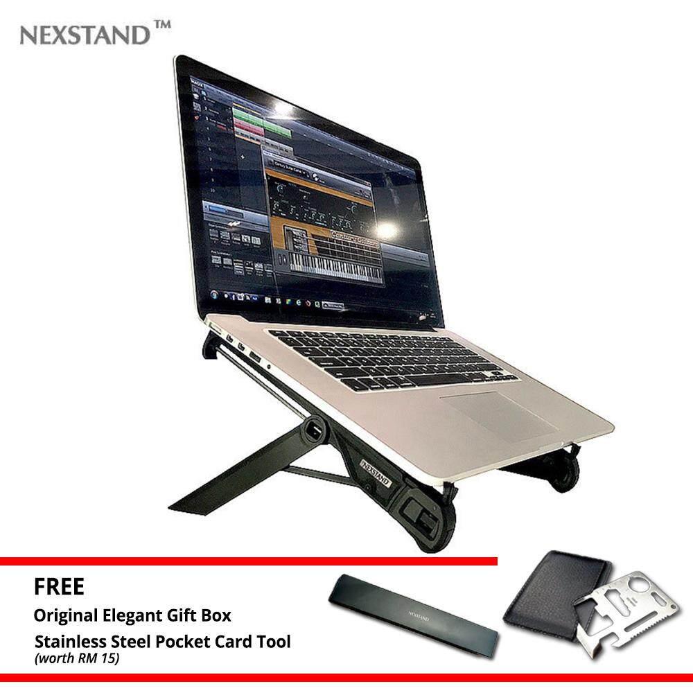 Nexstand Foldable Laptop Stand Portable  K7 Notebook Stand Travelling Ergonomic Macbook Ipad Pro