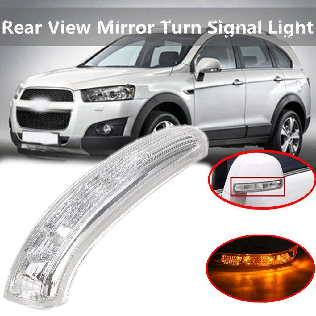 Car Lights - Right Side Rear View Mirror Turn Signal Light Lamp For Chevrolet Captiva 07-16 - Replacement Parts