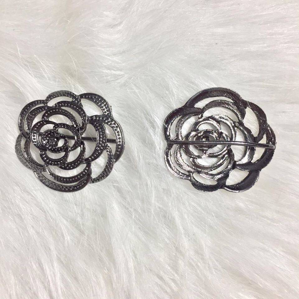 (BR06) ROSE BROOCH RING / CINCIN TUDUNG BAWAL
