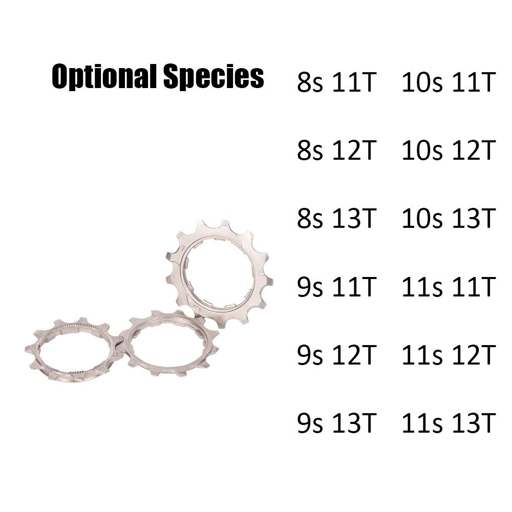 Parts & Components - ZTTO 8/9/10/11 Speed 11T/12T/13T Freewheel Flywheel Pinion for Bicycle - 11S13T / 10S13T / 9S13T / 8S13T / 11S12T / 10S12T / 9S12T / 8S12T / 11S11T / 10S11T / 9S11T / 8S11T