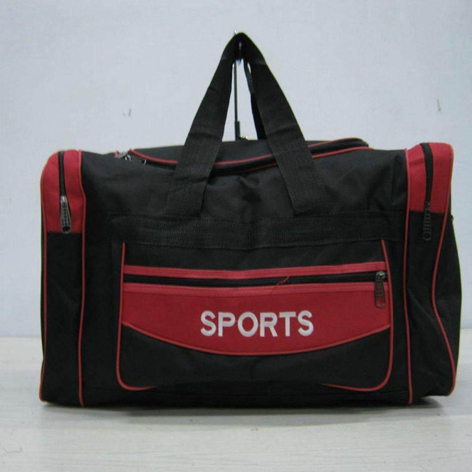 E-Era ขนาดใหญ่ Oxford ผ้าท่องเที่ยวกระเป๋าหิ้วโททผู้ชาย Weekender กระเป๋าใส่เสื้อผ้ากีฬากระเป๋า.