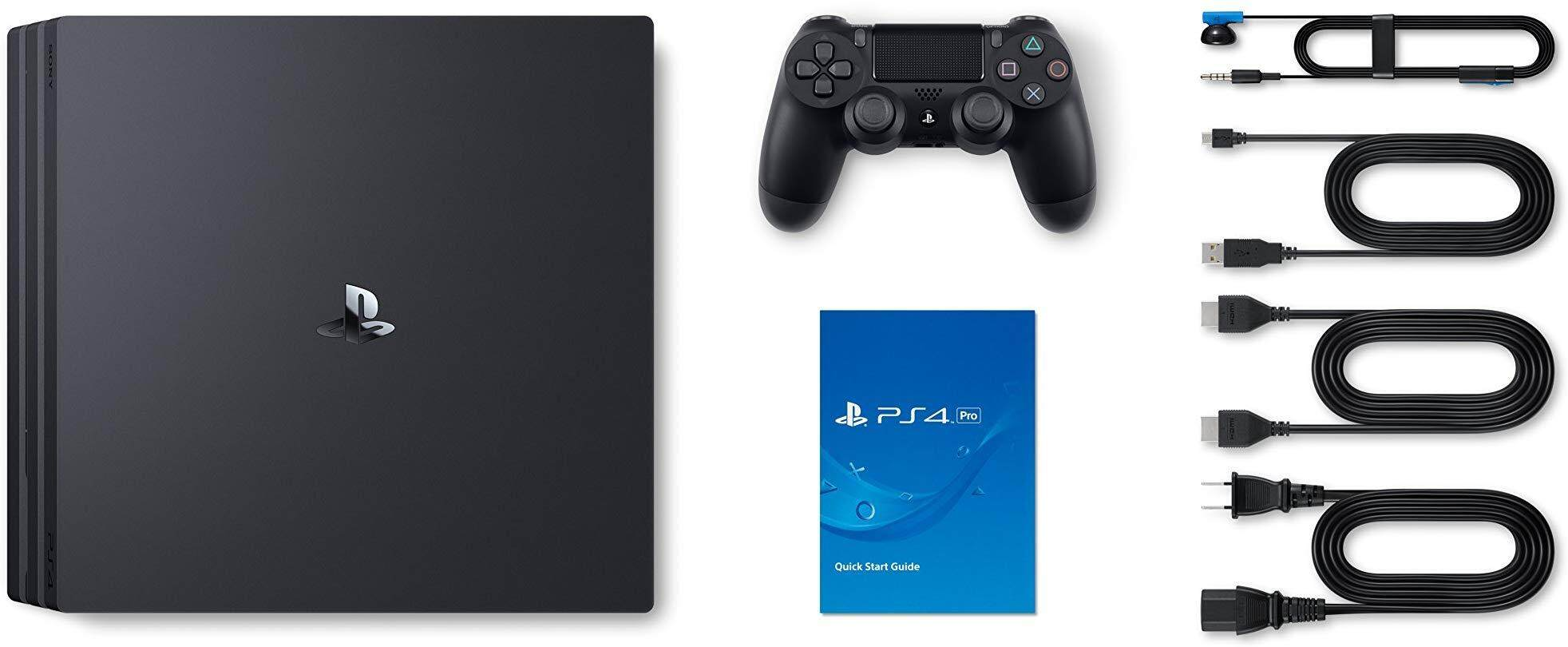 PS4 Playstation 4 Pro 1TB God Of War + The Last Of Us ( come with 2 Controller )