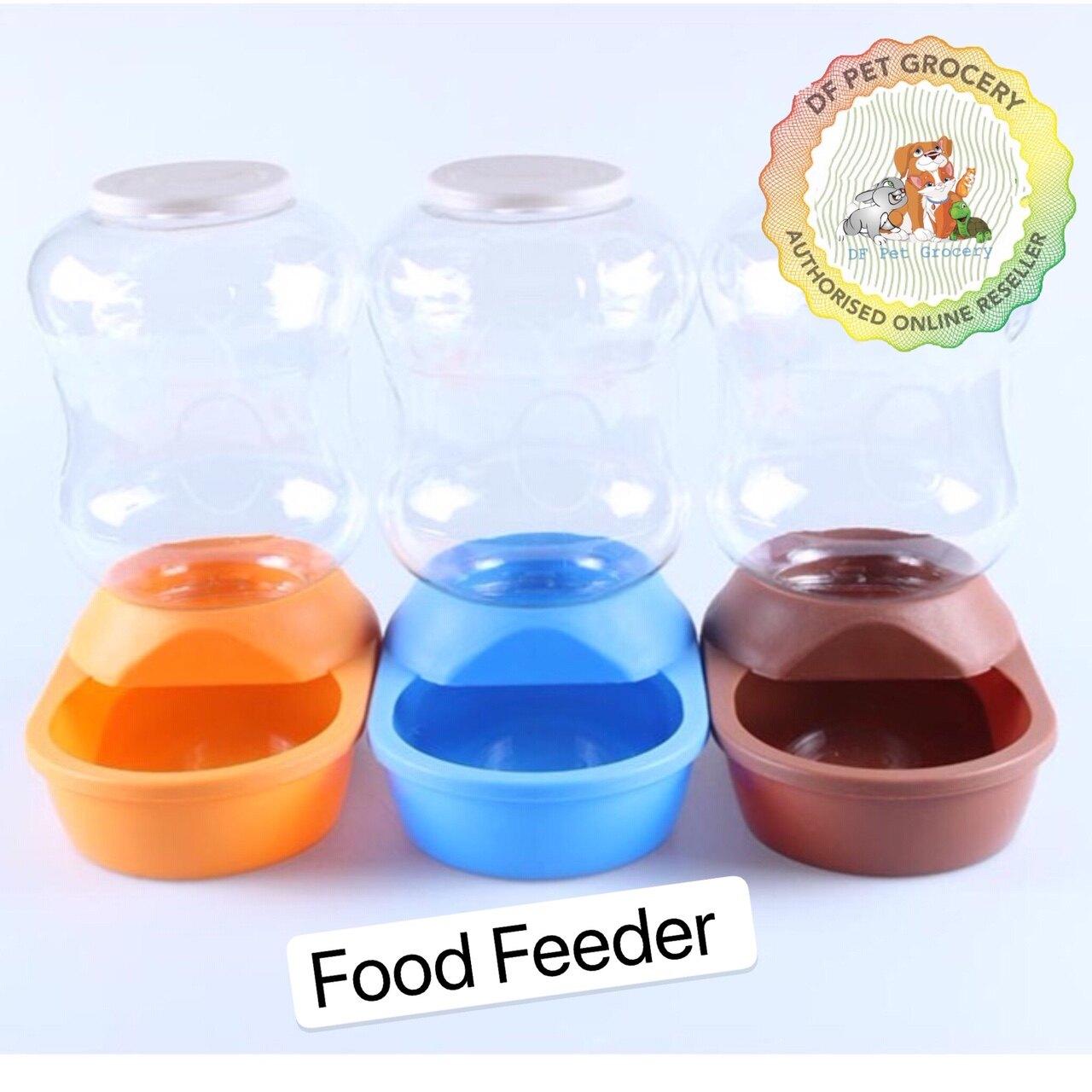 Pet Automatic Food Feeder 2L For Dog & Cat 6589 Random Colour