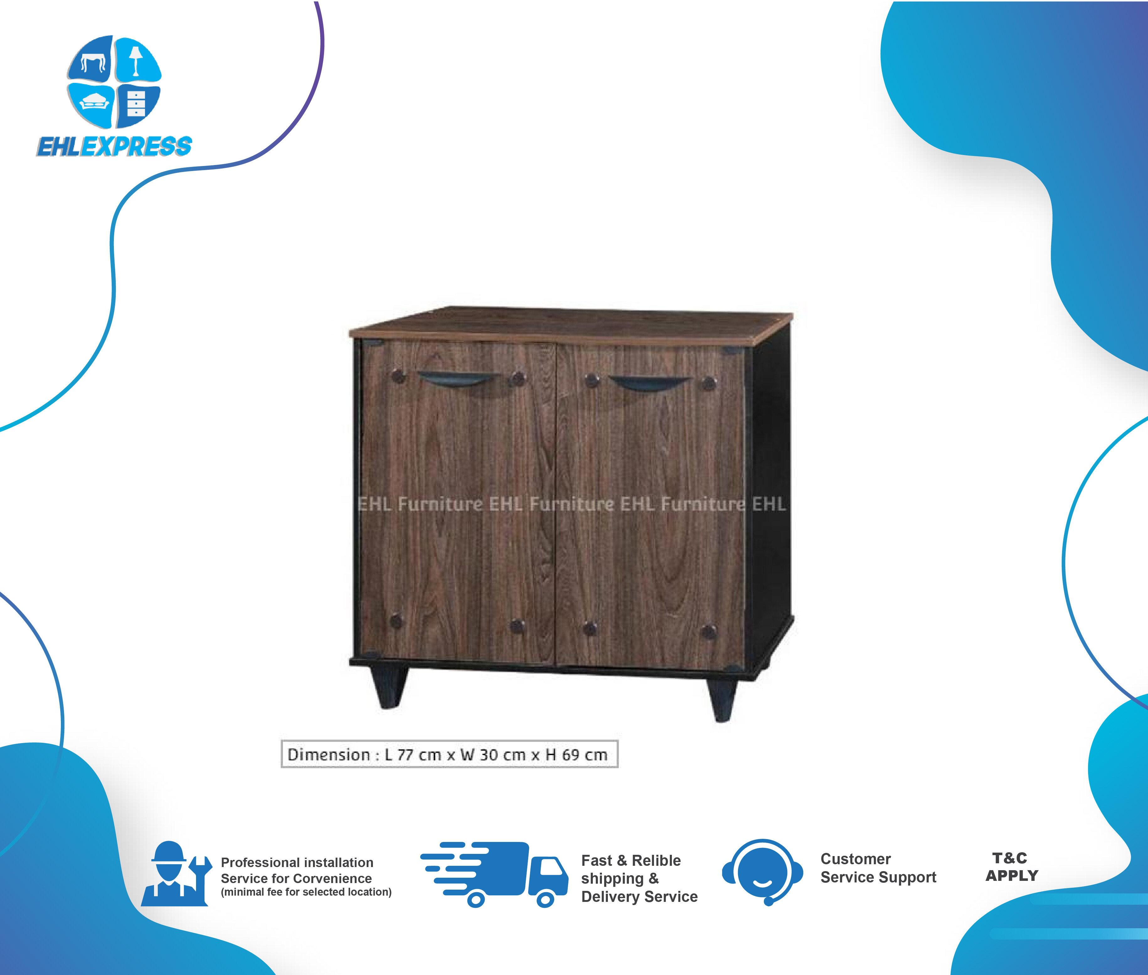 EHL EXPRESS Shoe Cabinet 2 doors - DIY (Self Assembly)