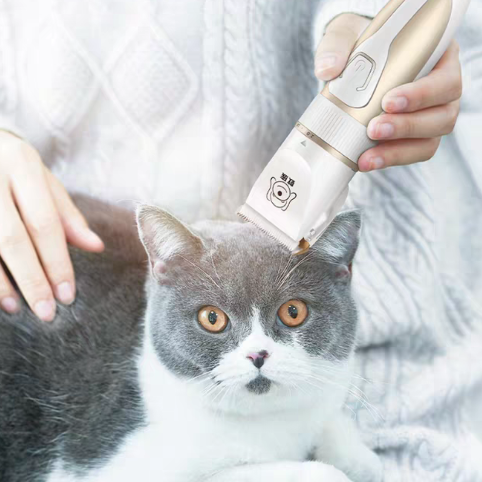 (NEET NEKO) Pet Hair Shaver / Pet Clipper & Accessories (USB cord / Blade) / Grooming