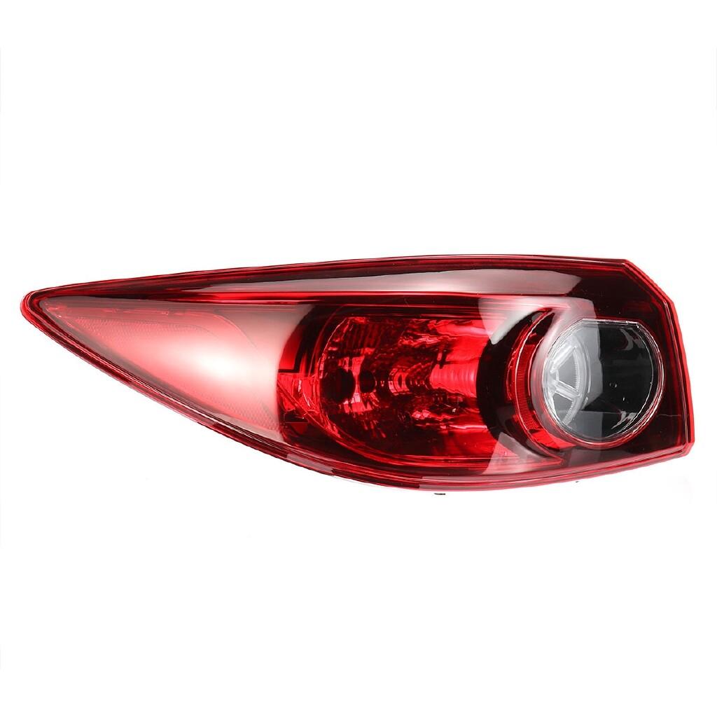 Car Lights - Rear Left Driver Side Outer Tail Brake Light Lamp For Mazda 3 2014+ 316-1942L-AF - Replacement Parts