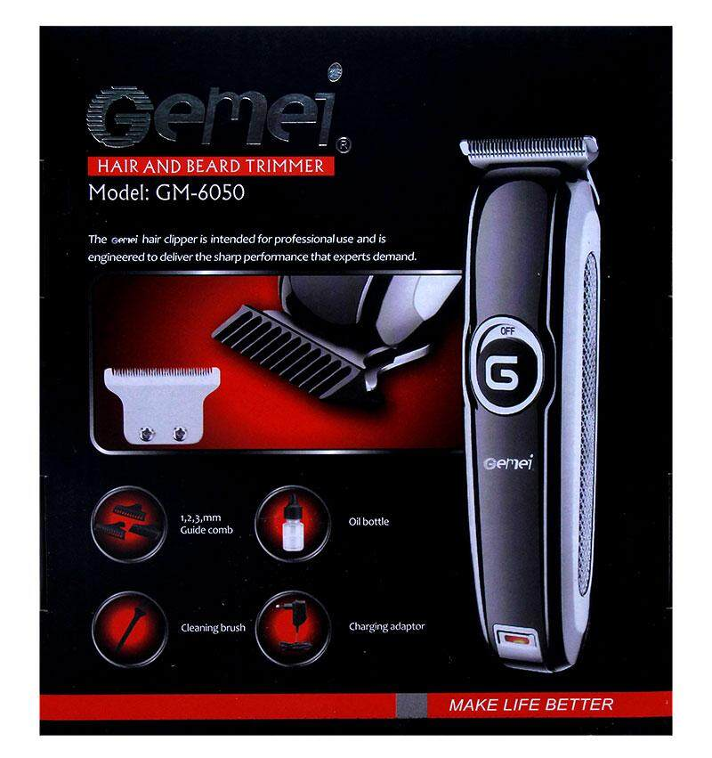 ***Flash Sale*** Limited Time Promotion (Mesin Gunting Rambut) Gemei GM-6050 Professional Hair & Beard Trimmer (Premium Quality & Enhanced Performance) Ready Stock/High Quality Guaranteed