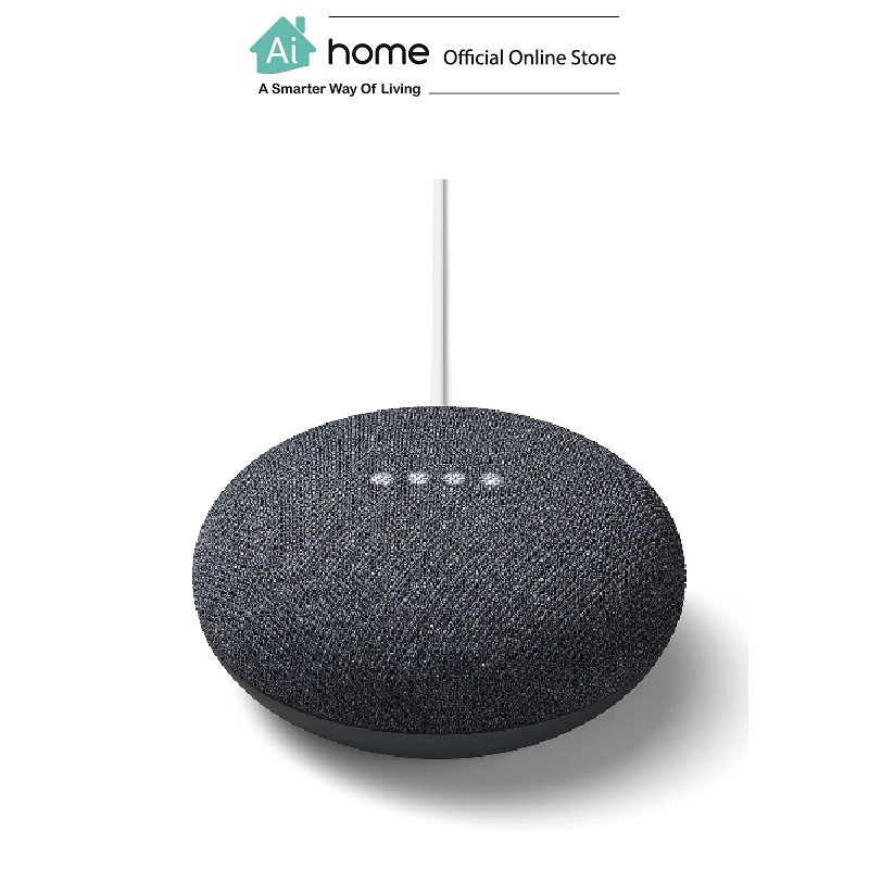 GOOGLE NEST Mini 2nd Generation [ Smart Speaker ] Build in Google Assistant with 1 Year Malaysia Warranty [ Ai Home ] GN2CL