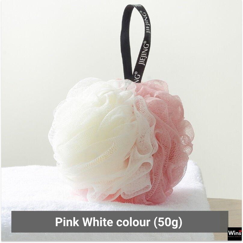 Bath Balls Wash Flower Bath Sponge Shower Brush Scrubber Rich Bubbles