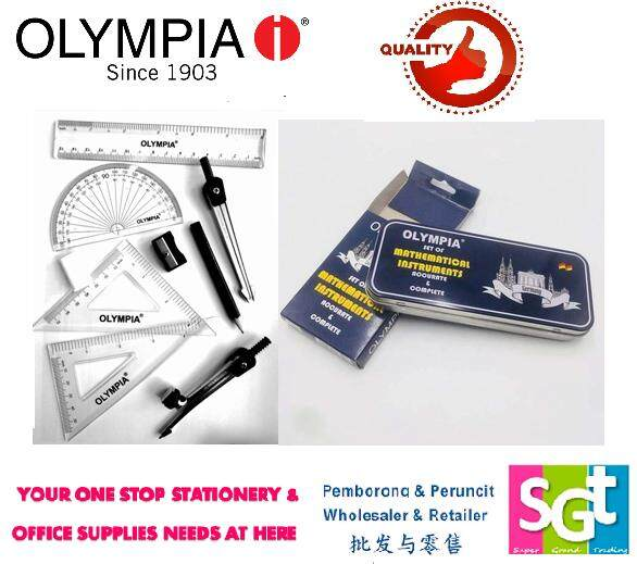 Olympia 9 piece Math Set