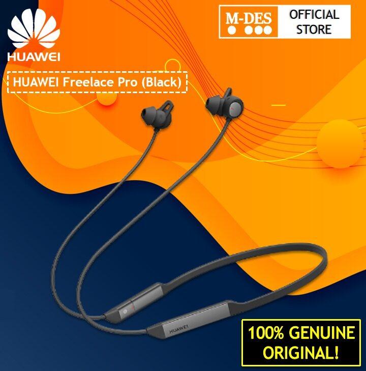 Huawei FreeLace Pro Wireless Bluetooth Earphone ( Graphite Black )