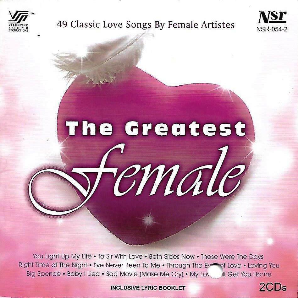 49 Classic Love Songs By The Greatest Female 2CD Debby Boone Lulu Judy Collins Mary Hopkins Skeeter Davis Doris Day