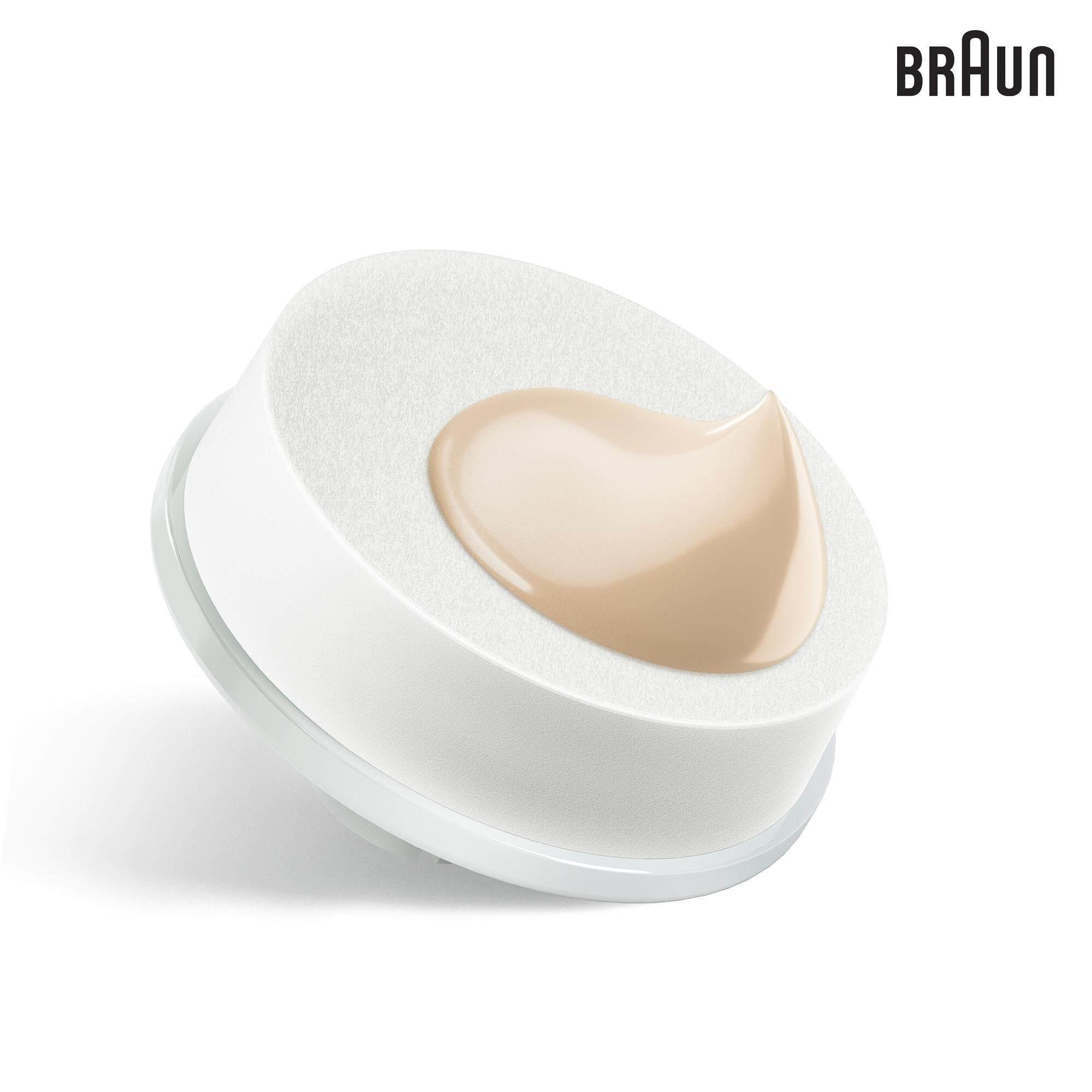 Braun Face 80-b - Pack of 2 Beauty Sponge Refills - designed for Braun Face Cleansing Brush