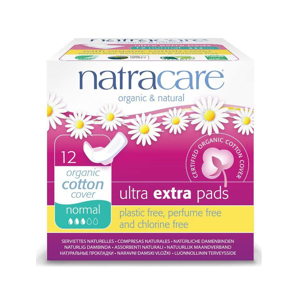 NATRACARE EXTRA NORMAL PADS 12PCS