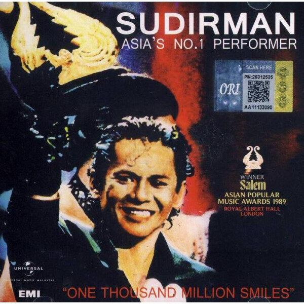 SUDIRMAN Asia\'s No.1 Performer Music CD