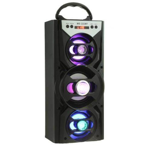 REDMAINE MS - 222BT PORTABLE BLUETOOTH SPEAKER FM RADIO AUX (BLACK)