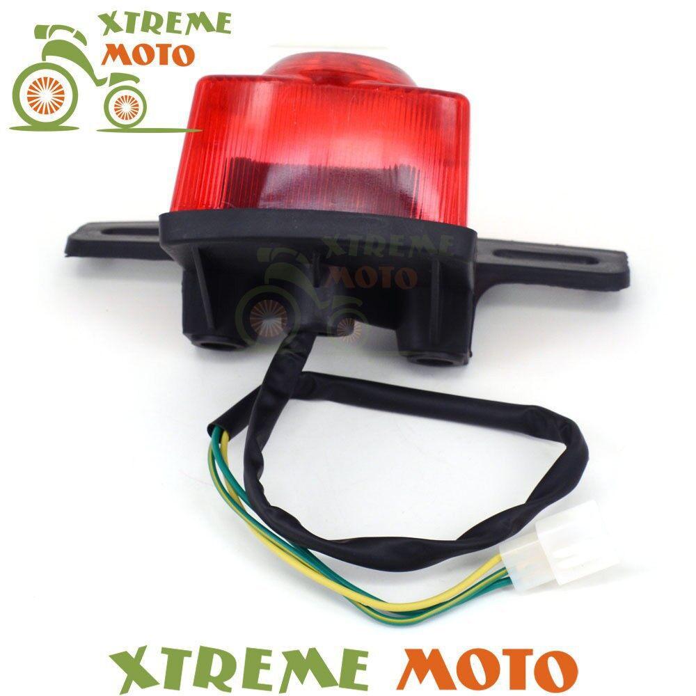 Car Lights - Motorcycle Rear Tail Light Lamp For Honda MONKEY Z50 Z50JZ Z 50 KDF Bike Red - Replacement Parts