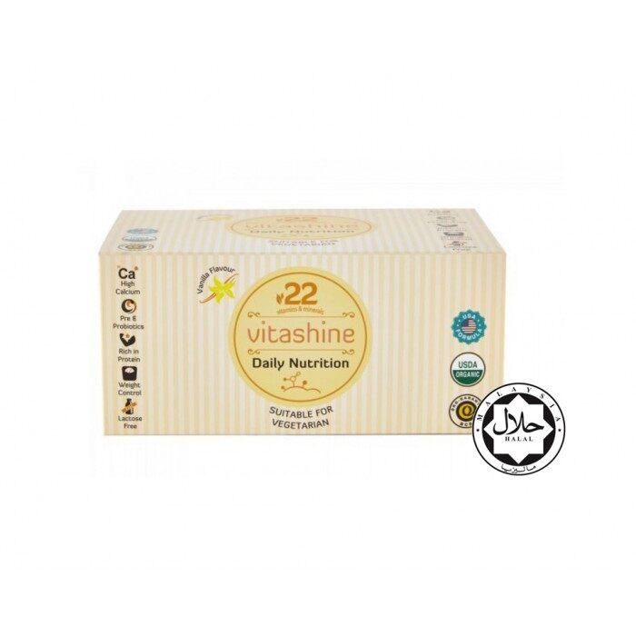 Vitashine 22 Daily Nutrition Vanilla 25gm X 10 sachets/ box