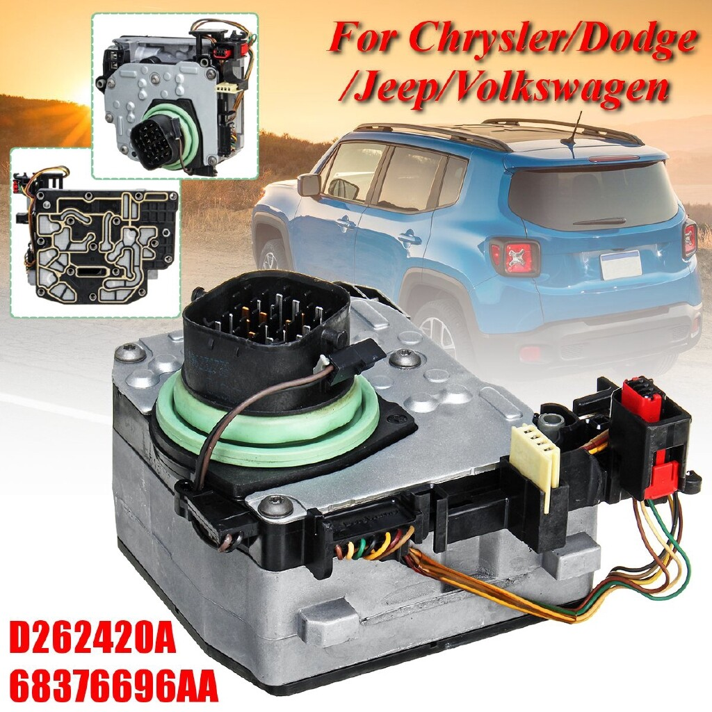 Engine Parts - For Chrysler Dodge Jeep VW Automatic Transmission Solenoid 62TE Car # 68376696AA - Car Replacement