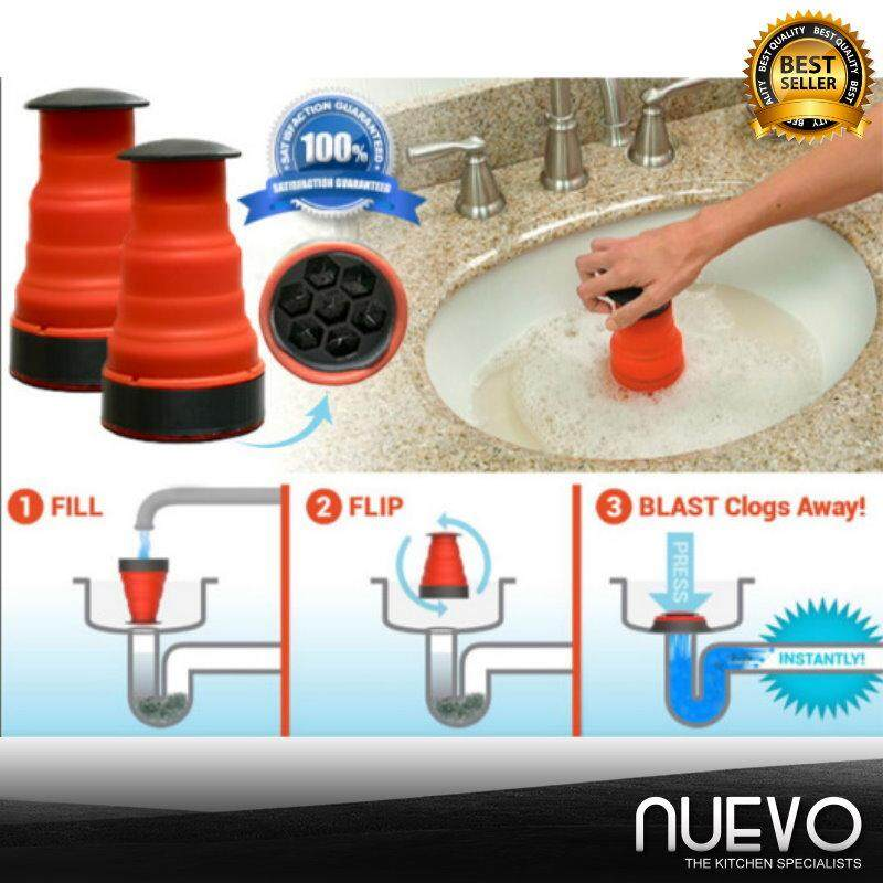 Nuevo New Sewer Dredge Artifact Clog Cannon Washbasin Dredge Sewer Fouler (AS SEEN ON TV)