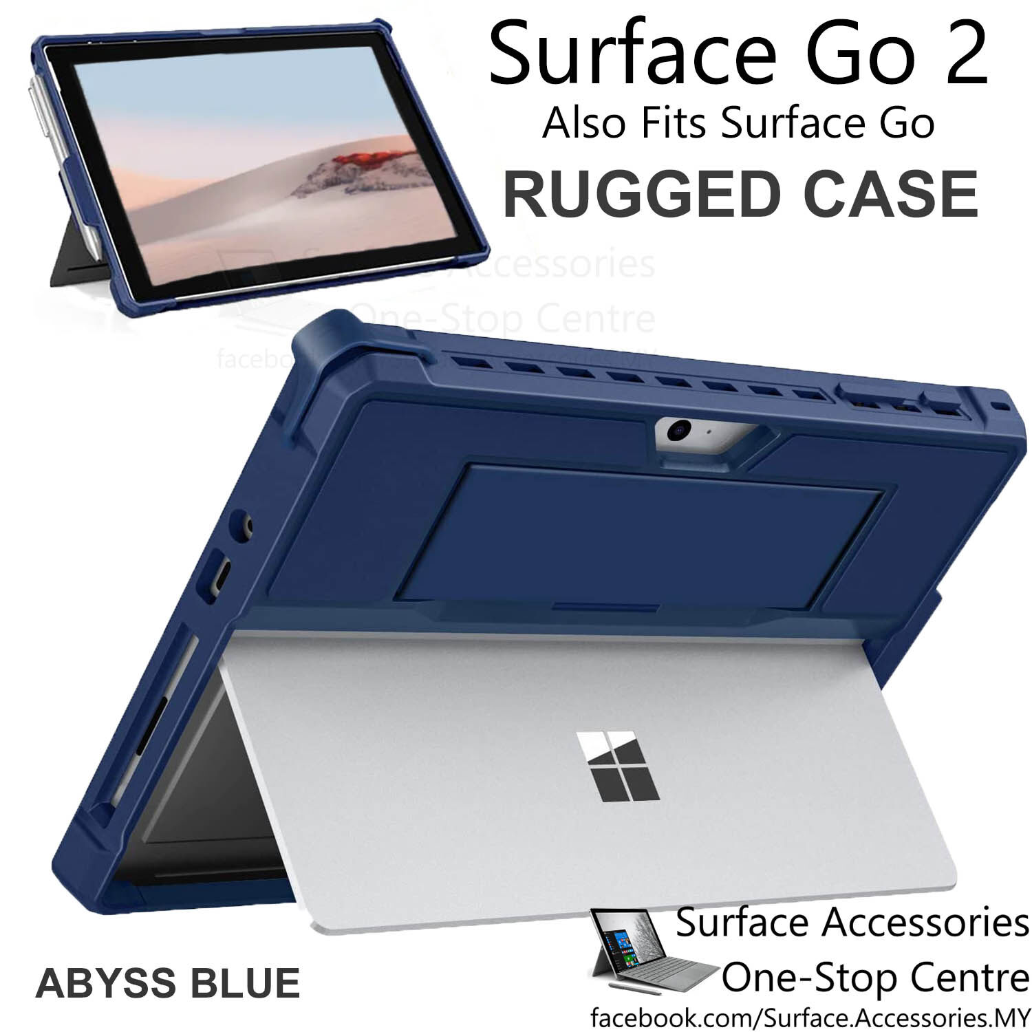 [MALAYSIA]Microsoft Surface Go 2 Rugged Casing with Pen Holder Surface Go 2 Cover Rugged Case Stand Flip Case with Pen Holder Case Surface Go 2 Protective Case Surface Go Rugged Case Surface Go Protective Case Surface Go Rugged Case with Pen Holder