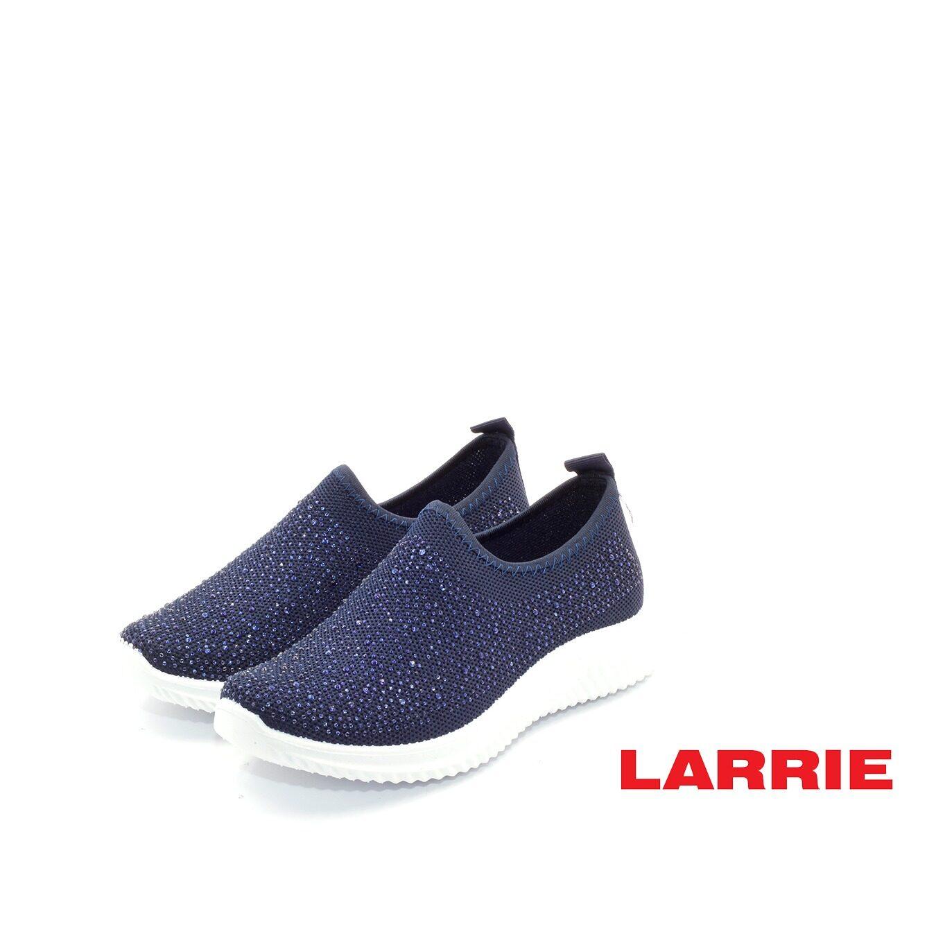 LARRIE Kasut Wanita Glitter Coated Comfort Sporty Sneakers - L62015-TF01SV