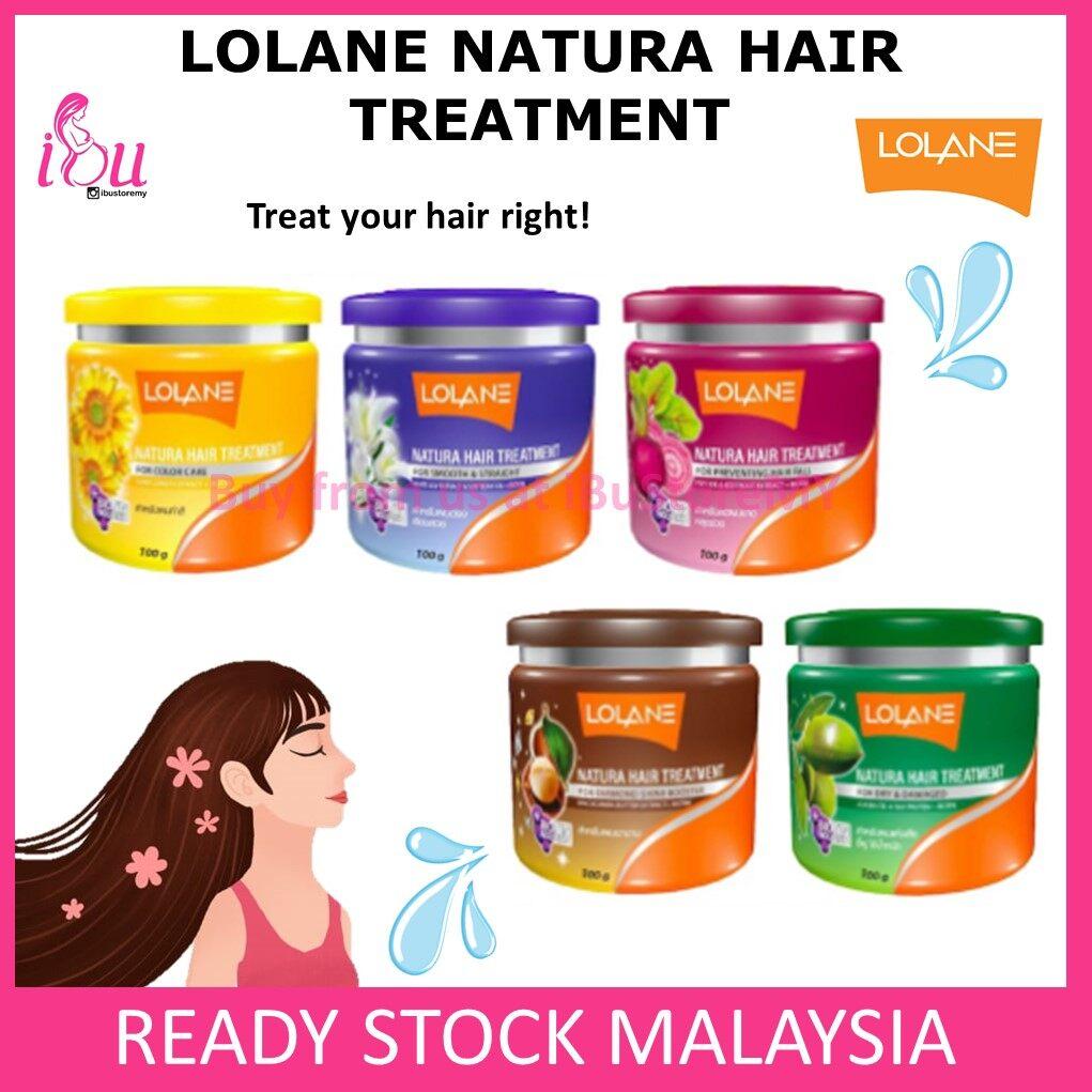 Lolane Natura Hair Treatment Yellow 100g Nourishing Color Care