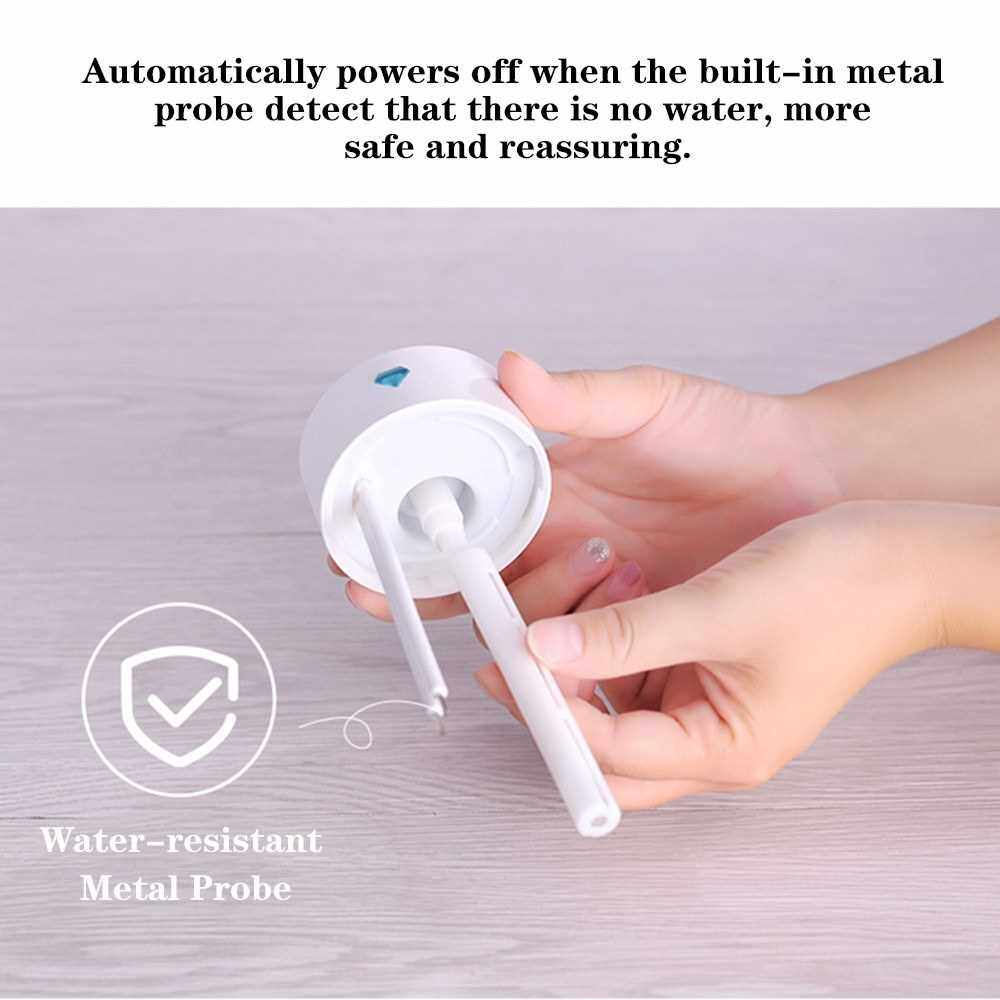 Diamond Cup Ultrasonic Humidifier Air Purifier with LED Lights 250ML Mini USB Nebulizer Car Aroma Diffuser Mist Maker (Royalblue)