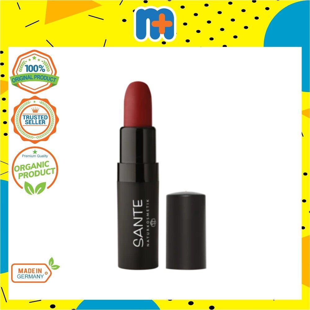 [MPLUS] SANTE Matte Lipstick*New 04 Kiss Me Red