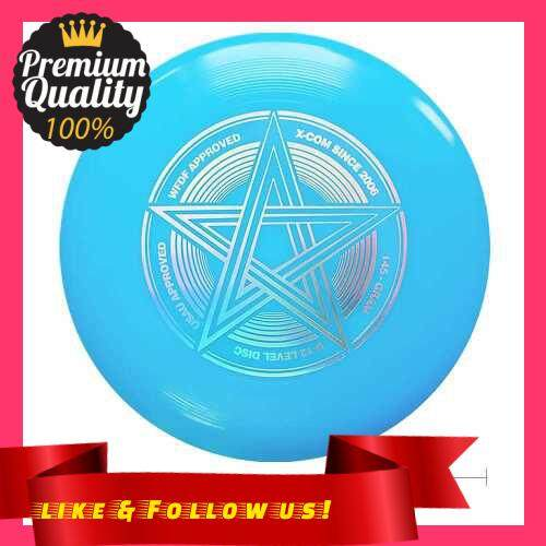 People\'s Choice 9.8 Inch 145g Plastic Flying Discs Outdoor Play Toy Sport Disc for Juniors (Blue)