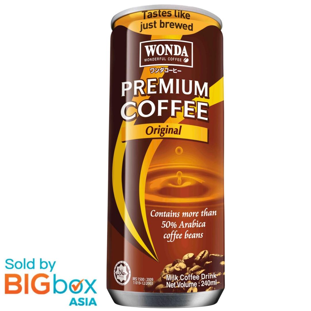 Wonda Coffee Original Can 240ml
