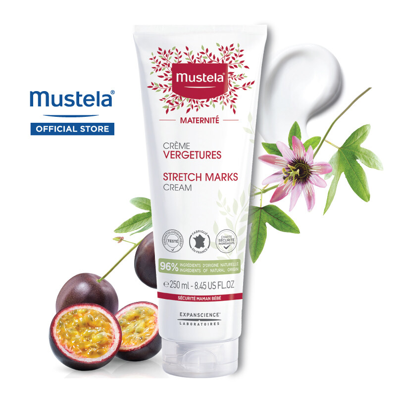 MUSTELA Stretch Marks Cream for Maternity (250ml)