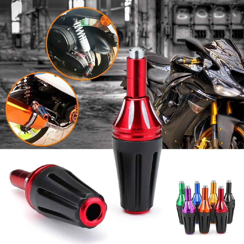 Moto Accessories - Universal Motorcycle Frame Slider Crash Protector 8mm For Yamaha Honda Suzuki - GREEN / ORANGE / BLACK / RED / BLUE / PURPLE / YELLOW