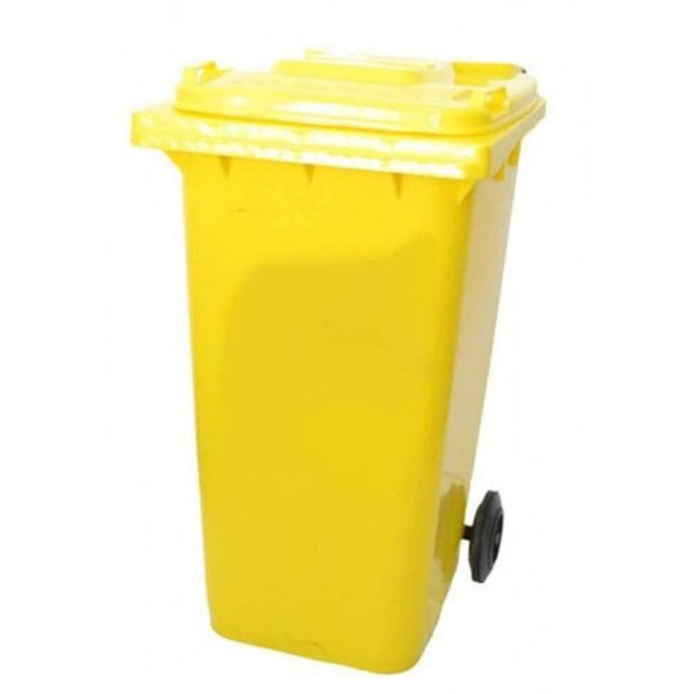 Leader 120 Liter 2 Wheelie Mobile Garbage Compost Wastebin Dustbin / Tong Sampah Beroda Serbaguna