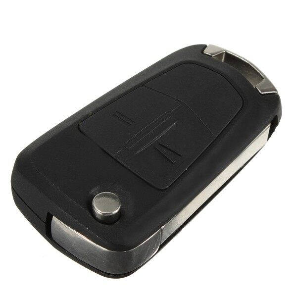 Car Accessories - 2 Button Flip Remote Key Fob Shell Case for Vauxhall - Automotive