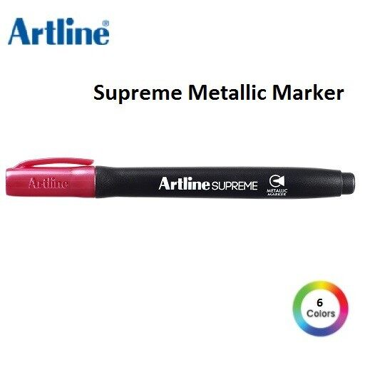 Artline EPF-790 SUPREME Metallic Marker (EPF-790) Metallic Pink