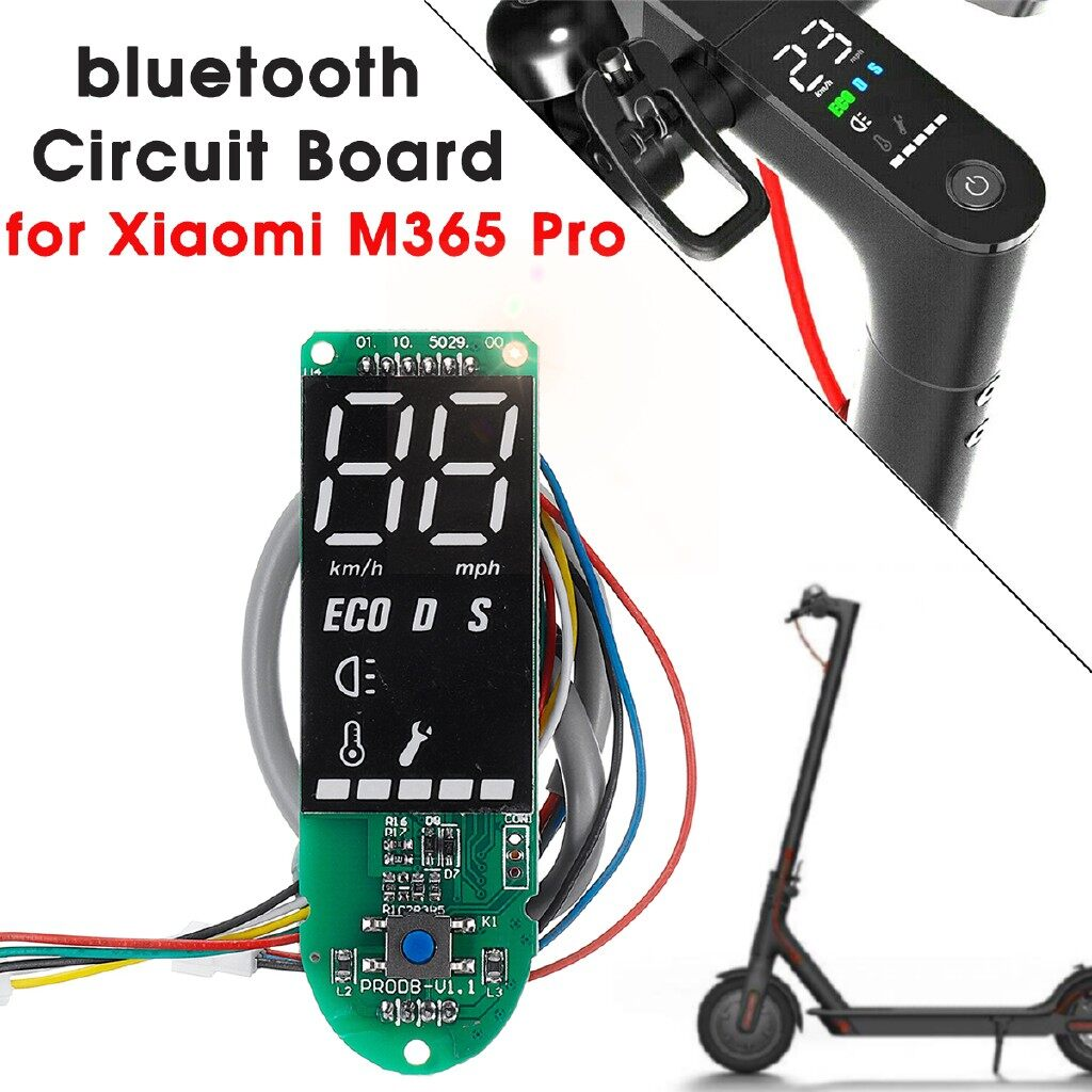Engine Parts - Dashboard BLUETOOTH Circuit Board Cover Replacement For Xiaomi M365 Pro Scooter - Car Replacement