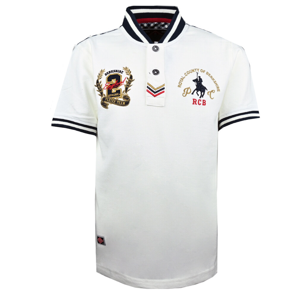 RCB POLO CLUB KIDS POLO TEE SOLID RBTS60544 OOP